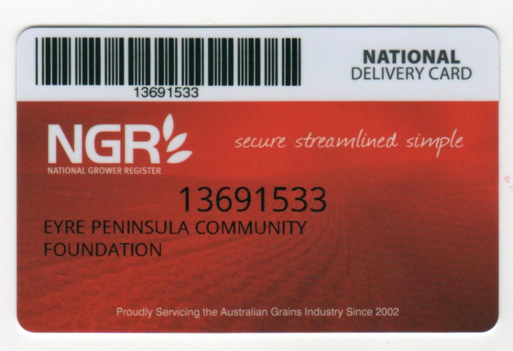 EPCF NGR card